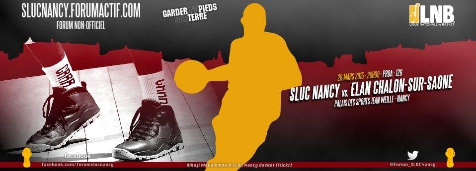 Forum du SLUC Nancy Basket