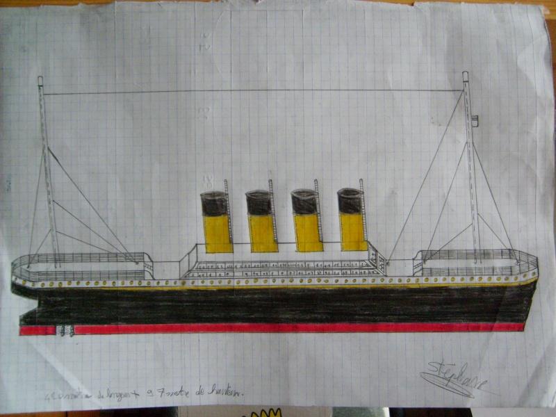 Dessin de stephane - Dessin du titanic ...