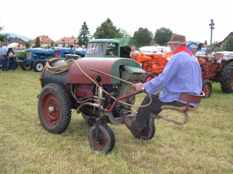 Manifestation de vieux tracteurs