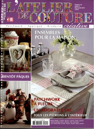 les magazines d 39 avril 2015 couture broderie la bobine. Black Bedroom Furniture Sets. Home Design Ideas