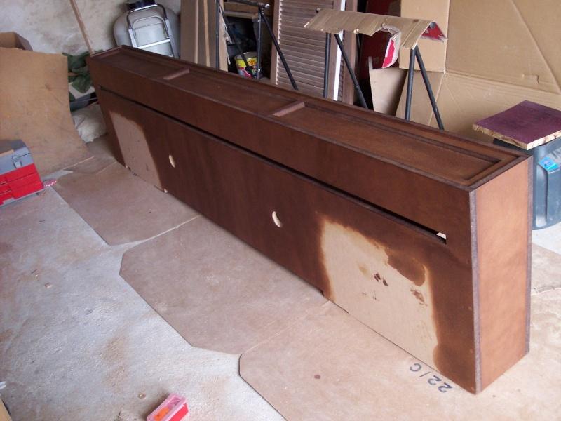 meuble tv escamotable diy. Black Bedroom Furniture Sets. Home Design Ideas