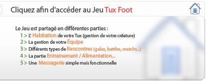 Tux foot