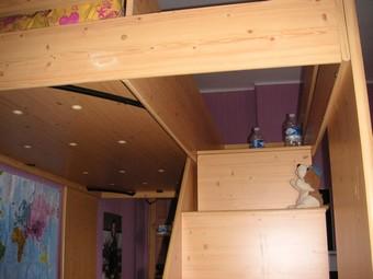 lit mezzanine enfant. Black Bedroom Furniture Sets. Home Design Ideas