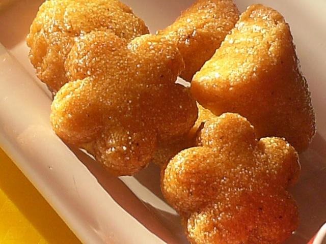 المبسس الحرشة بالعسل