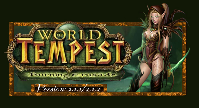 Forum du serveur privé World Of Tempest