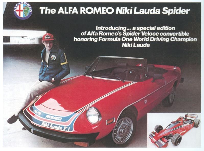 the alfa romeo niki lauda spider. Black Bedroom Furniture Sets. Home Design Ideas