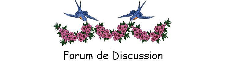 Forum d'entraide