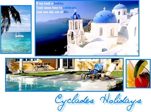 Cyclades Holidays