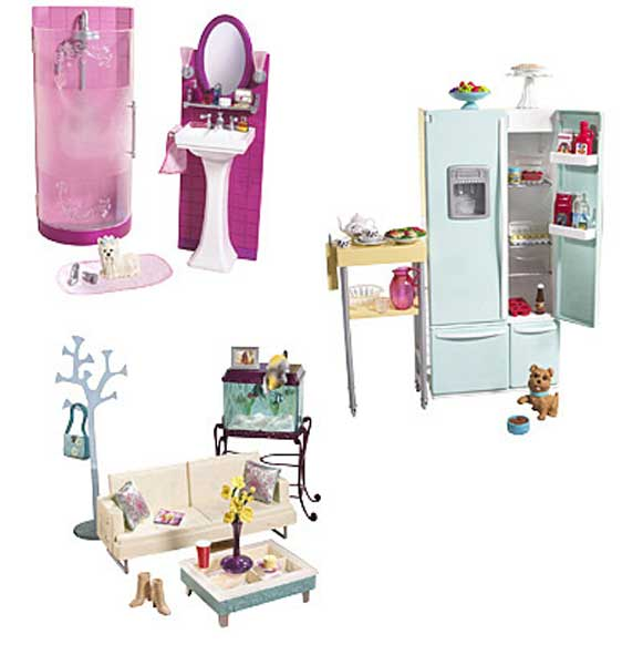 mobiler pour barbie. Black Bedroom Furniture Sets. Home Design Ideas