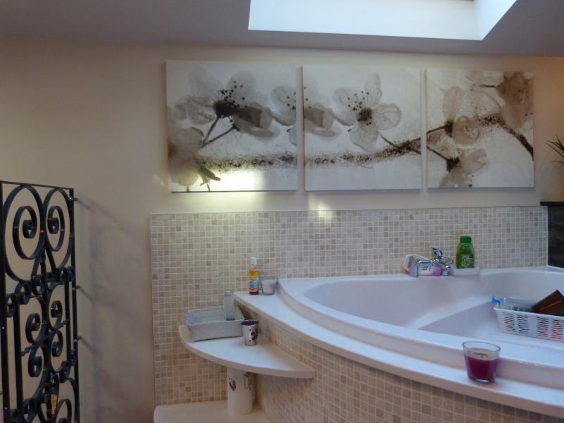 Salle de bain id es for Salle bain ton pierre
