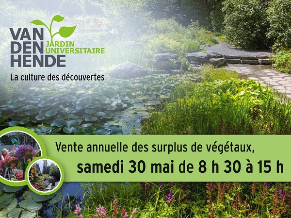 30 mai 2015 au jardin universitaire roger van den hende for Jardin universitaire