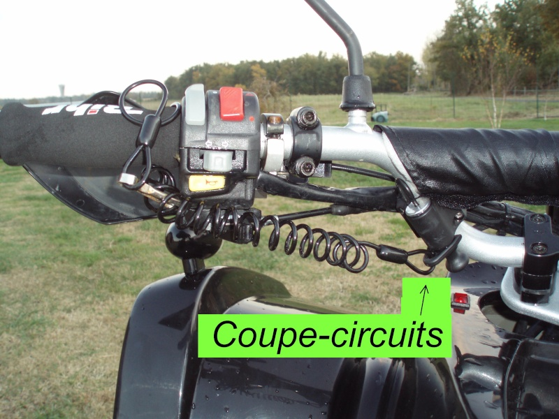 Comment brancher coupe circuit quad - Montage coupe circuit quad ...
