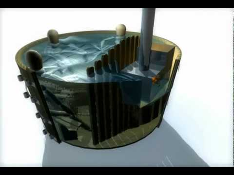 Chauffage au bois d 39 un spa ext rieur usinages - Bain nordique chauffage bois ...