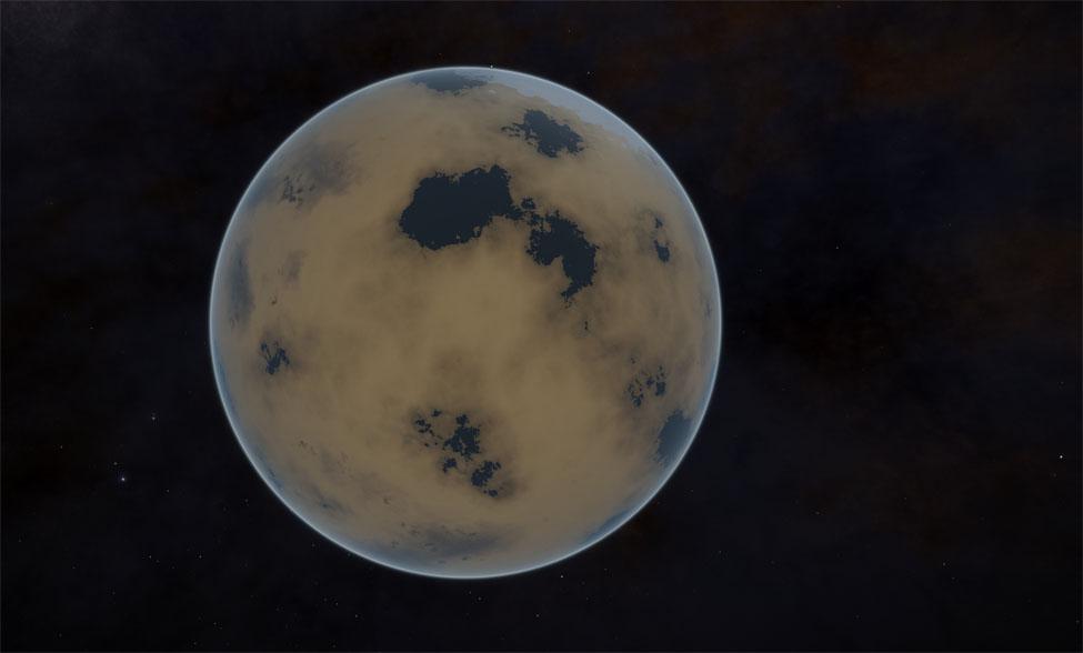 Pas mal de planètes métalliques terraformables sur la route.