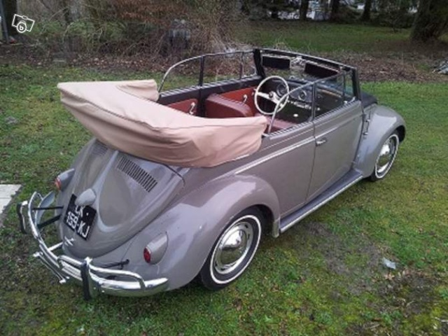 coccinelle cabriolet 1957