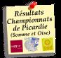 Vos résultats seniors dans les journées du championnat de Picardie, Somme (Oise)  et les coupes.