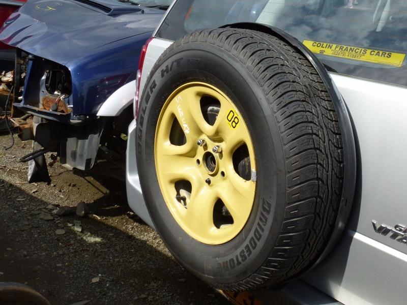 Suzuki Grand Vitara Spare Tire Cover