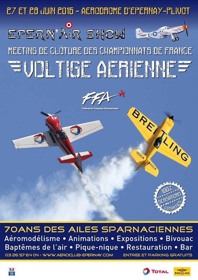 Voltige, Epernay Plivot LFSW , les Ailes Sparnaciennes, Epern'Air Show 2015, meeting aériens 2015, meeting aeriens 2015, French Airshow 2015