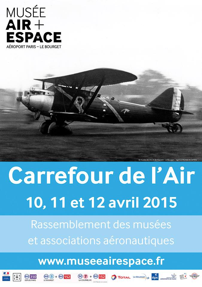 musée de l'Air et de l'Espace, Carrefour de l'Air, Paris ,associations et collectionneurs aéronautiques, Le fly'in , Meeting Aerien 2015, French Airshow 2015