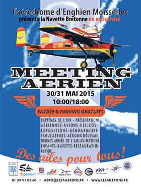 Aerodrome de d'Enghien-Moisselles,Aéroclub d'Enghien, JPO 2015, French Airshow 2015