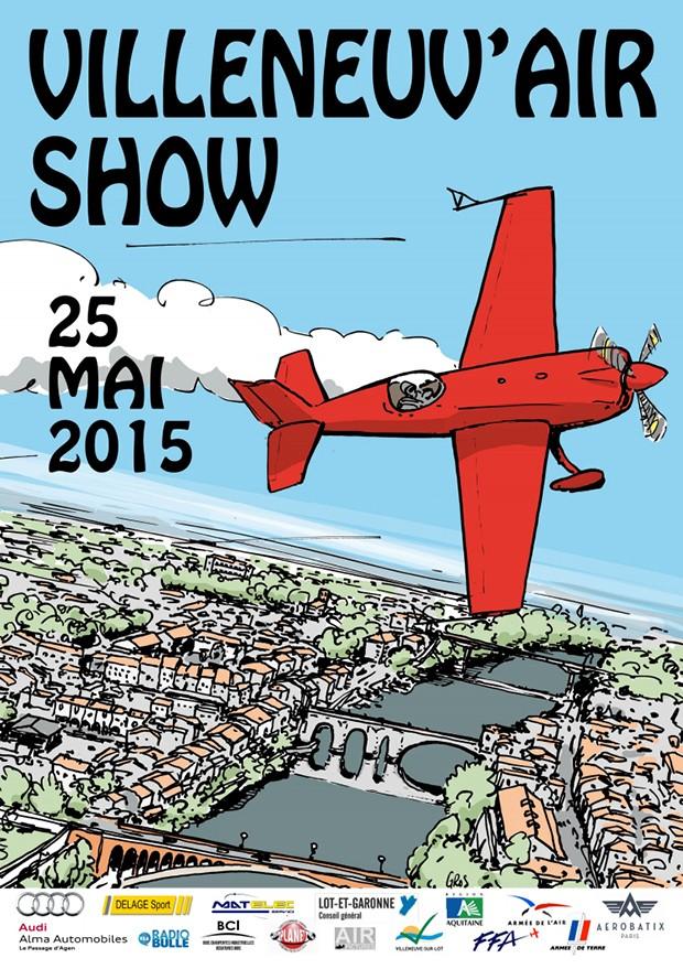 aeroclub-villeneuve,Villeneuv Airshow,VILLENEUVE sur LOT, Show Aerien, French Airshow Spectacle Meeting Aerien 2015,