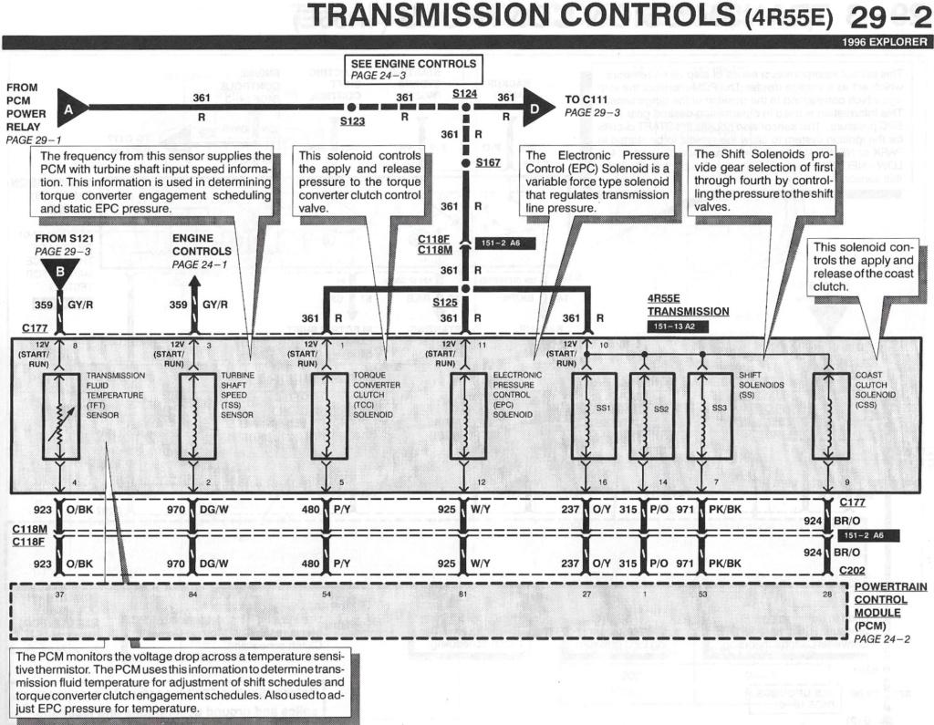 Further Toyota Pickup Transmission Diagram On 4r55e Solenoid Diagram