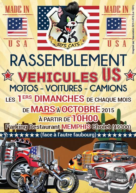 Rassemblement autos motos us onvasortir cholet for Onvasortir cholet
