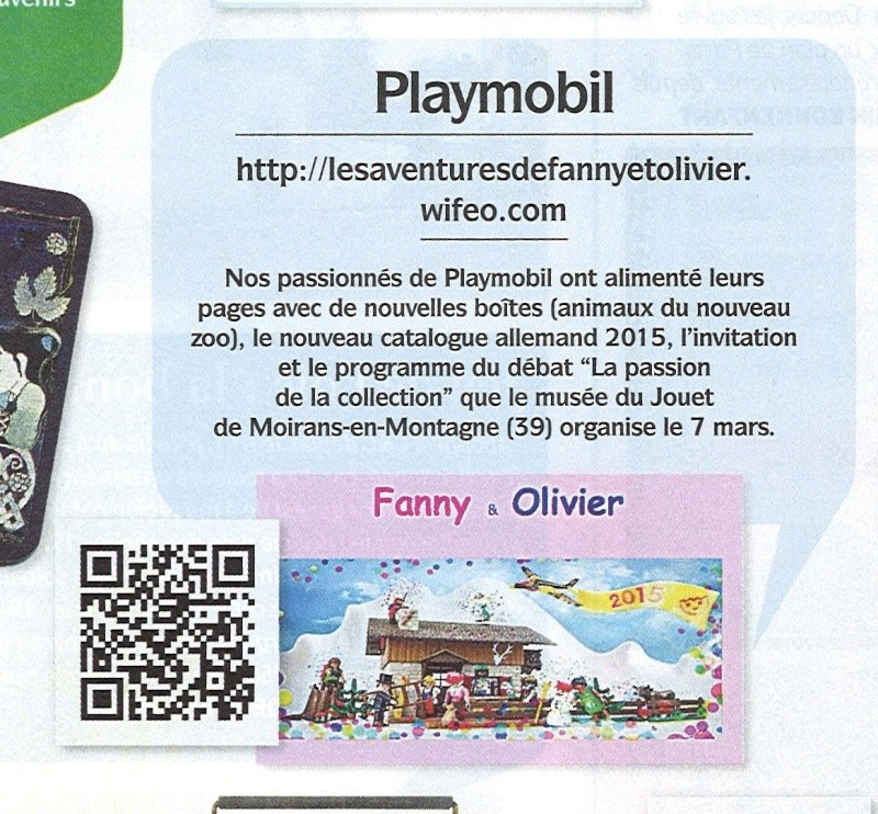 collectionneur et chineur fanny et olivier playmobil