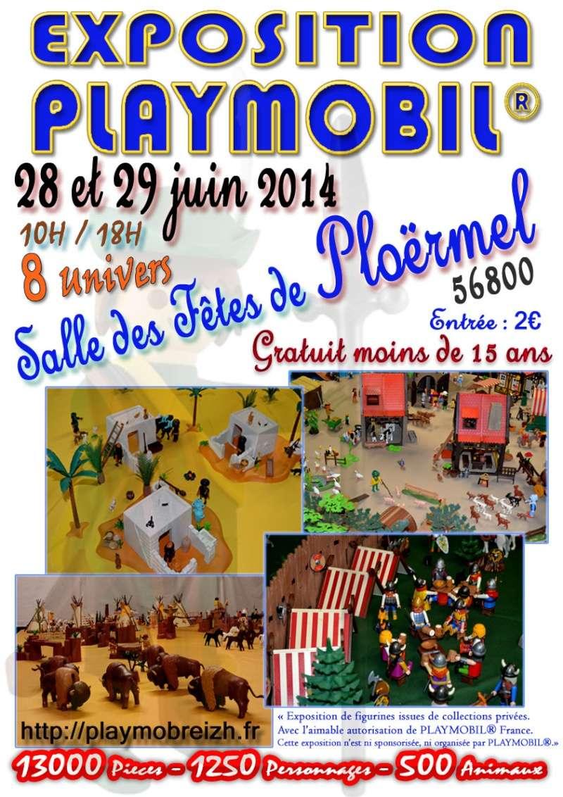 expo playmobil de Playmobreizh par fanny et olivier