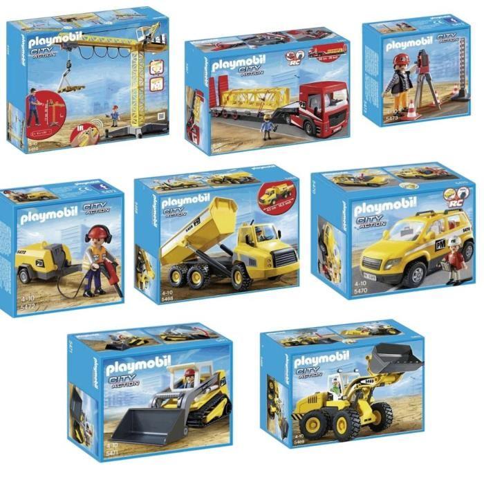 Engin de chantier playmobil