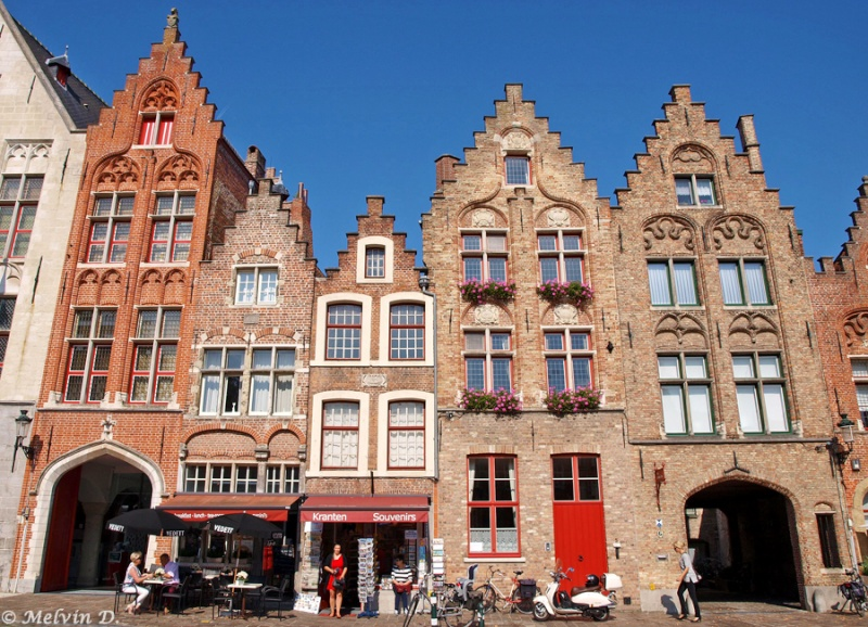 Melvin d photographies bruges for Architecture flamande