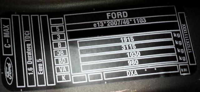 code couleur c max brun palissandre ford c max auto evasion forum auto. Black Bedroom Furniture Sets. Home Design Ideas