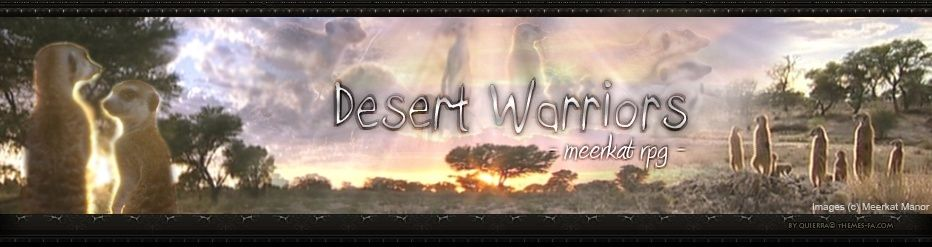 Desert Warriors RPG