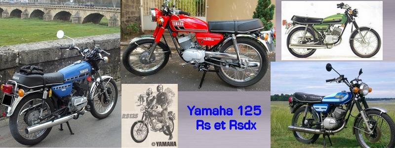Yamaha 125 RS et RSDX