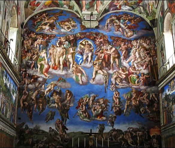 Le plafond de la sixtine michel ange page 2 - Michel ange chapelle sixtine plafond ...