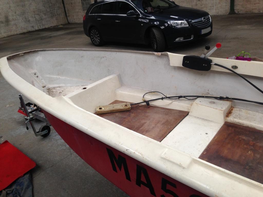 bateau de peche homemade