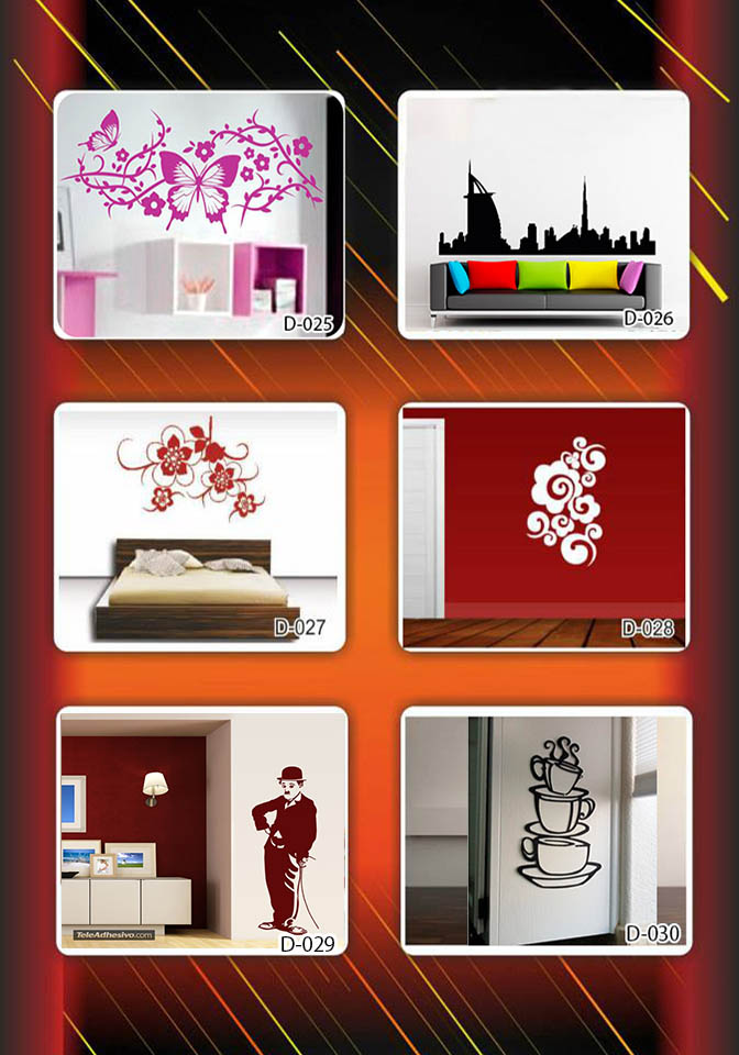 Vinilos decorativos rotulados personalizados calcomanias for Precios vinilos decorativos