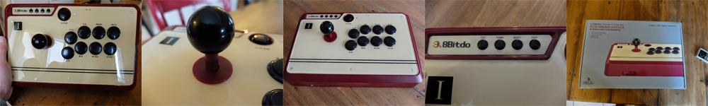 Stick Arcade FC30 : Prise en main