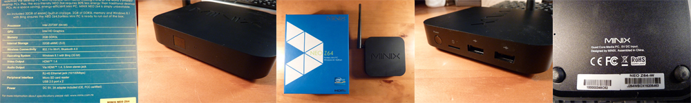 MiniX Z64 Windows 8.1 : Le test