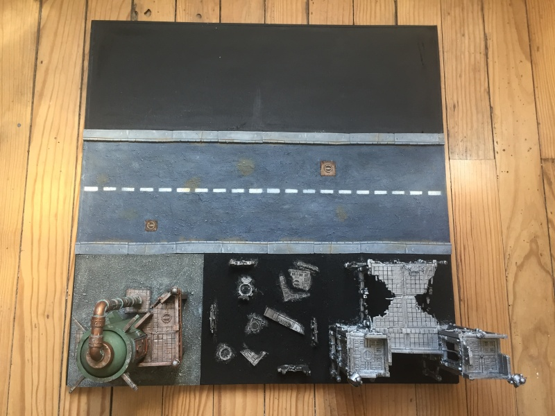 40k table de jeu urbaine d cors warhammer forum for Decor 40k