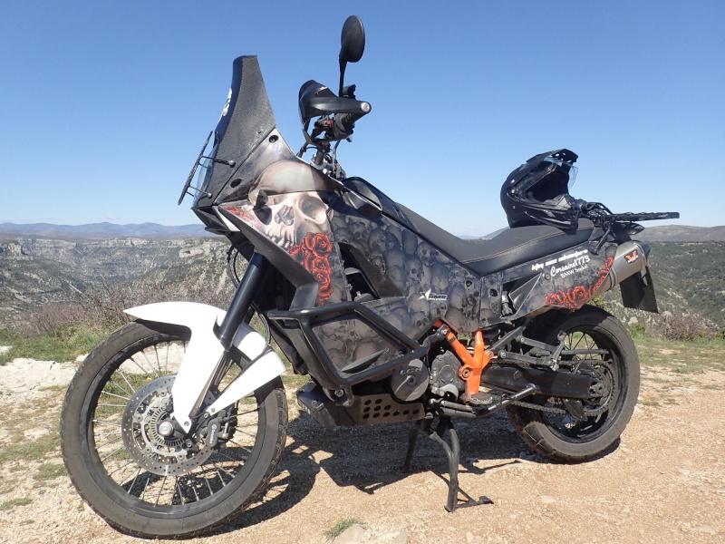 Il faut mettre un garde boue haut sur les 990 adv for Deco 990 adventure