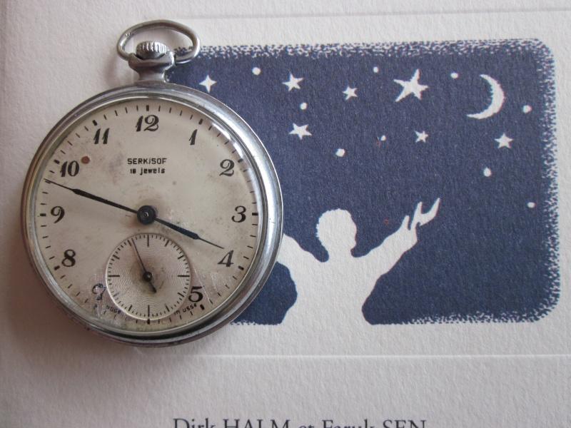 Montre gousset serkisof - Horloge murale gousset ...