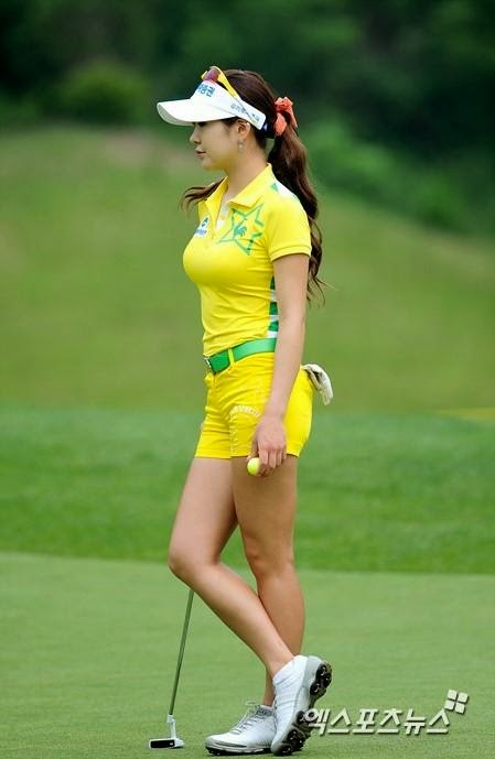 which asian lpga golfers is the prettiest