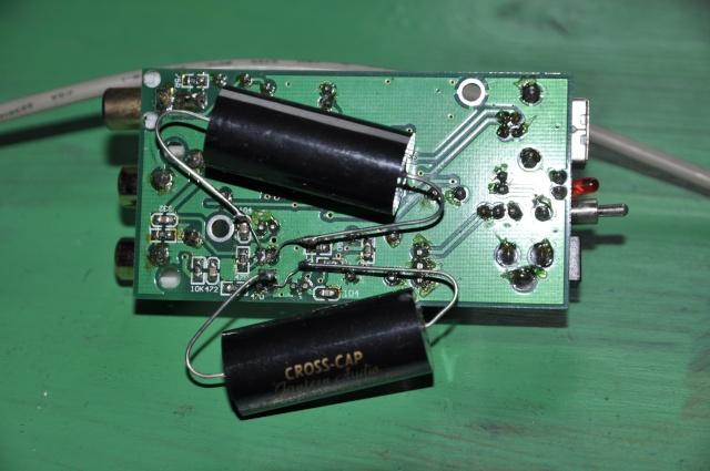 Mkp Cross cap 3,90 UF Jantzen audio gama alta 400v