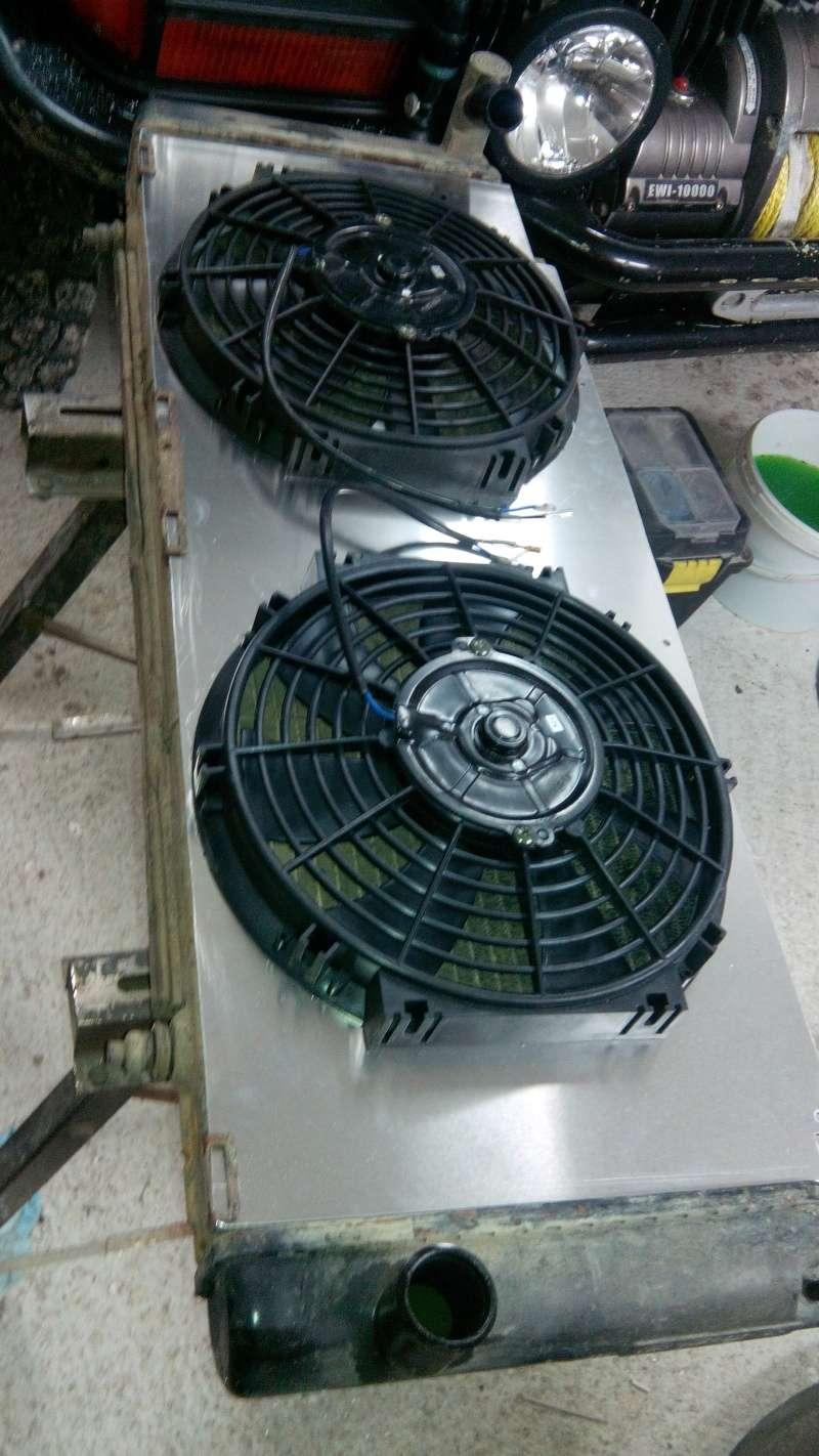 Installation de ventilo lectrique sur jeep - Demonter un radiateur electrique ...