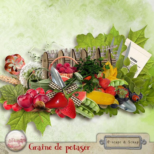 Kit Graine de Potager + Template assortis de S.Designs dans Juillet s_desi29
