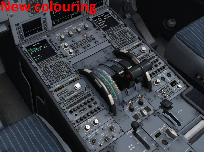 Alternative VC textures (darker, with wear) - Tweaking, repaints