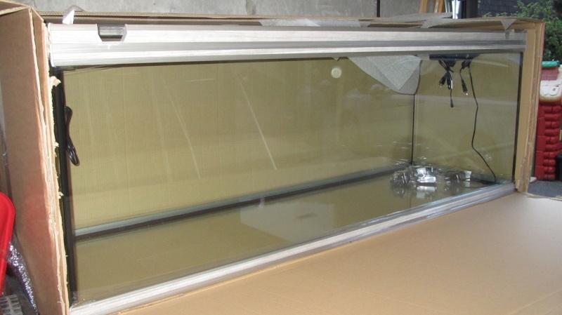 Cr ation nouvel aquarium amazonien 830 litres for Aquarium 50 litres occasion