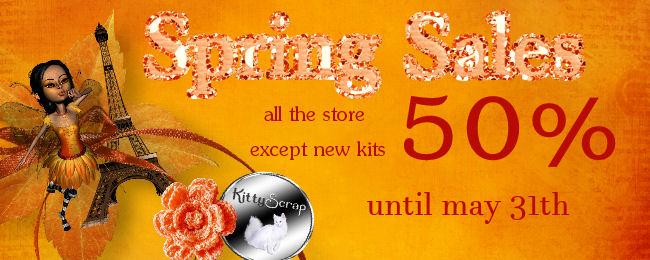 Promo chez Kittyscrap dans Mai bannie13