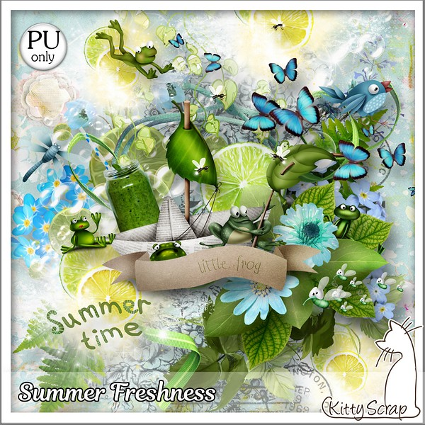 SUMMER FRESHNESS DE KITTYSCRAP dans Juillet kitty180